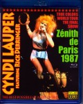 Cyndi Lauper シンディー・ローパー/France 1987 & more Blu-Ray Version