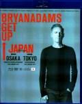 Bryan Adams ブライアン・アダムス/Osaka & Tokyo,Japan 2017 Blu-Ray & DVD