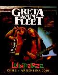 Greta Van Fleet グレタ・ヴァン・フリート/Chile 2019 & more Blu-Ray Ver.