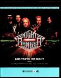 Night Ranger ナイト・レンジャー/Tokyo,Japan 10.5.2019 Blu-Ray + DVD Ver