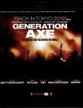 Generation Axe ジェネレーション・アックス/Tokyo,Japan 2019 Blu-Ray + DVD Ver