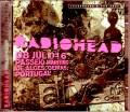 Radiohead レディオヘッド/Portugal 2016