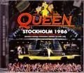 Queen クィーン/Sweden 1986 Upgrade