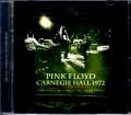 Pink Floyd ピンク・フロイド/New York,USA 1972