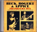 BB & A Beck,Bogert and Appice ジェフ・ベック/Germany 1972