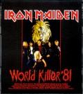 Iron Maiden アイアン・メイデン/World Tour 1981