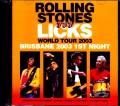 Rolling Stones ローリング・ストーンズ/Australia 3.4.2003