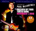 Paul McCartney ポール・マッカートニー/Tokyo,Japan 11.1.2018 Another Seat Ver. & SC
