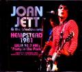 Joan Jett & the Blackhearts ジョーン・ジェット/NY,USA 1981