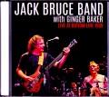 Jack Bruce Band,Ginger Baker ジャック・ブルース/NY,USA 1989