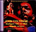 John Coltrane ジョン・コルトレーン/Germany 1961 & more