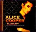 Alice Cooper アリス・クーパー/TX,USA 1980 Pre-Broadcast Master