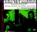 John McLaughlin,Mahavishnu Orchestra ジョン・マクラフリン/Switzerland 1986