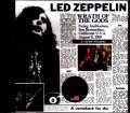 Led Zeppelin レッド・ツェッペリン/CA,USA 8.8.1969