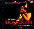 Alice Cooper アリス・クーパー/CA,USA 1979 Broadcast Masters
