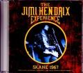 Jimi Hendrix Experience ジミ・ヘンドリックス/Sweden 9.10.1967