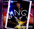 Paul McCartney,Wings ポール・マッカートニー ウイングス/MI,USA 1976