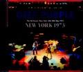 Deep Purple ディープ・パープル/NY,USA 1973