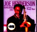 Joe Henderson ジョー・ヘンダーソン/Norway 1987