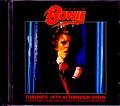 David Bowie デヴィッド・ボウイ/Canada 1974 Upgrade