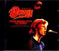 David Bowie デヴィッド・ボウイ/MI,USA 6.22.1974