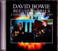 David Bowie デヴィッド・ボウイ/MA,USA 4.8.1997