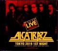 Alcatrazz アルカトラス/Tokyo,Japan 5.28.2019