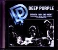 Deep Purple ディープ・パープル/Australia 12.13.1984