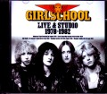Girlschool ガールスクール/Live & Studio 1978-1982
