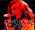 David Bowie デヴィッド・ボウイ/London,UK 2000 SBD Complete