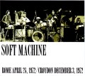 Soft Machine ソフト・マシーン/Italy 1972 & more