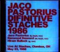 Jaco Pastorius ジャコ・パストリアス/OH,USA 1986