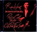 Roger Waters ロジャー・ウォーターズ/NY,USA 3.28.1985