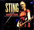 Sting スティング/Osaka,Japan 2019