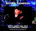 Richard Thompson リチャード・トンプソン/London,UK 2019