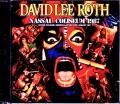 David Lee Roth デヴィッド・リー・ロス/NY,USA 1987