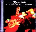 Rainbow レインボー/Spain 1981