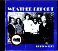 Weather Report ウェザー・リポート/MA,USA 1973