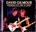 David Gilmour デヴィッド・ギルモア/CA,USA 6.21.1984