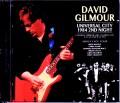 David Gilmour デヴィッド・ギルモア/CCA,USA 6.22.1984