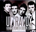 Ultravox ウルトラヴォックス/London,UK 12.13.1980