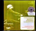 Cecil Taylor Quartet セシル・テイラー/Netherlands 1969 LP Unedited