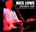 Nick Lowe ニック・ロウ/Germany 1985