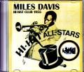 Miles Davis マイルス・デイビス/MA,USA 1955