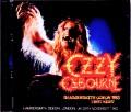 Ozzy Osbourne オジー・オズボーン/London,UK 11.29.1983