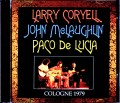 Larry Coryell,John McLaughlin,Paco de Lucia ラリー・コリエル ジョン・マクラフリン パコ・デ・ルシア/Germany 1979