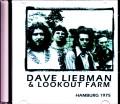 Dave Liebman & Lookout Farm デイヴ・リーブマン/Germany 1975