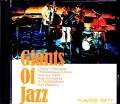 Giants of Jazz Dizzy Gillespie,Art Blakey,Thelonious Monk/France 1971