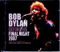 Bob Dylan,Tom Petty and the Heartbreakers ボブ・ディラン トム・ペティ/London,UK 10.17.1987 & more