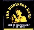 Tom Robinson Band トム・ロビンソン/CA,USA 1978